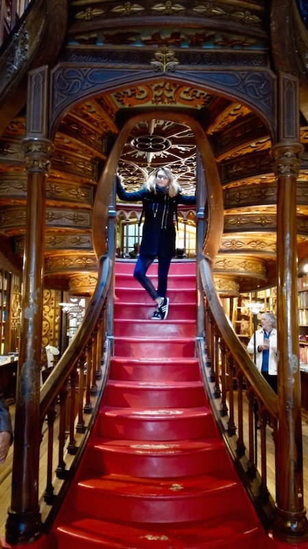 librairie lello porto, harry potter