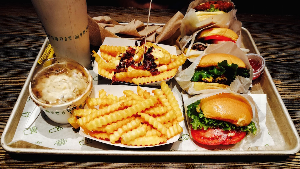bien manger new york burger shake shack
