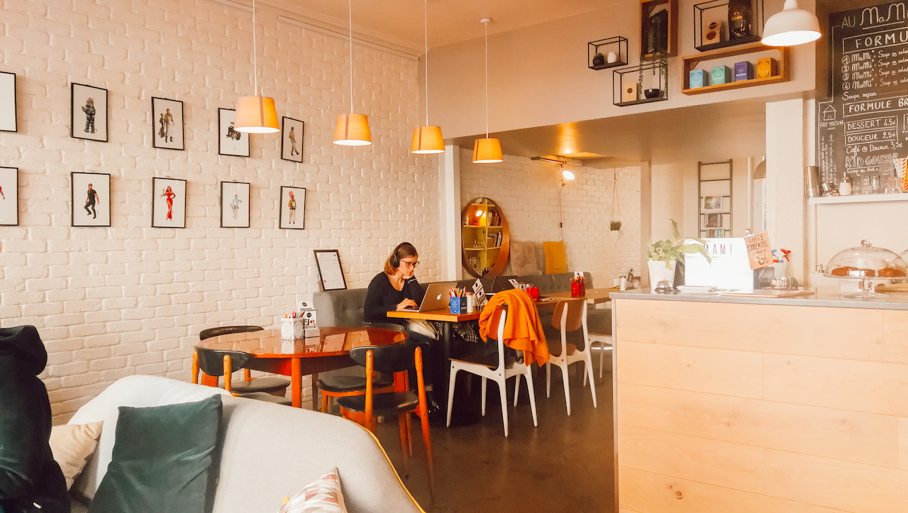 mami café wifi à lyon 7 pour travailler pour les freelances