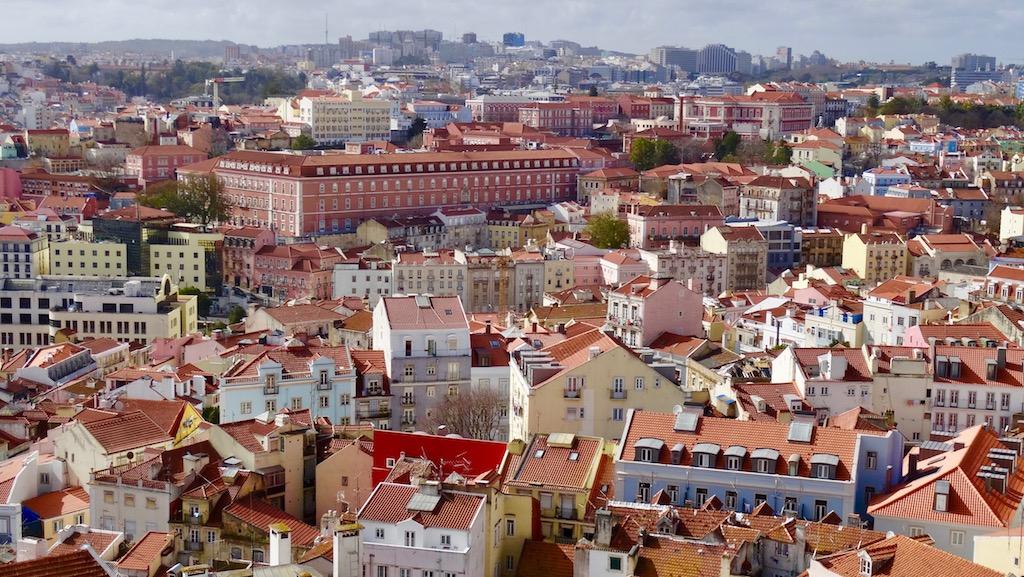 point de vue visiter Lisbonne en 8 jours