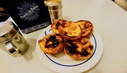restaurants à Lisbonne pasteis