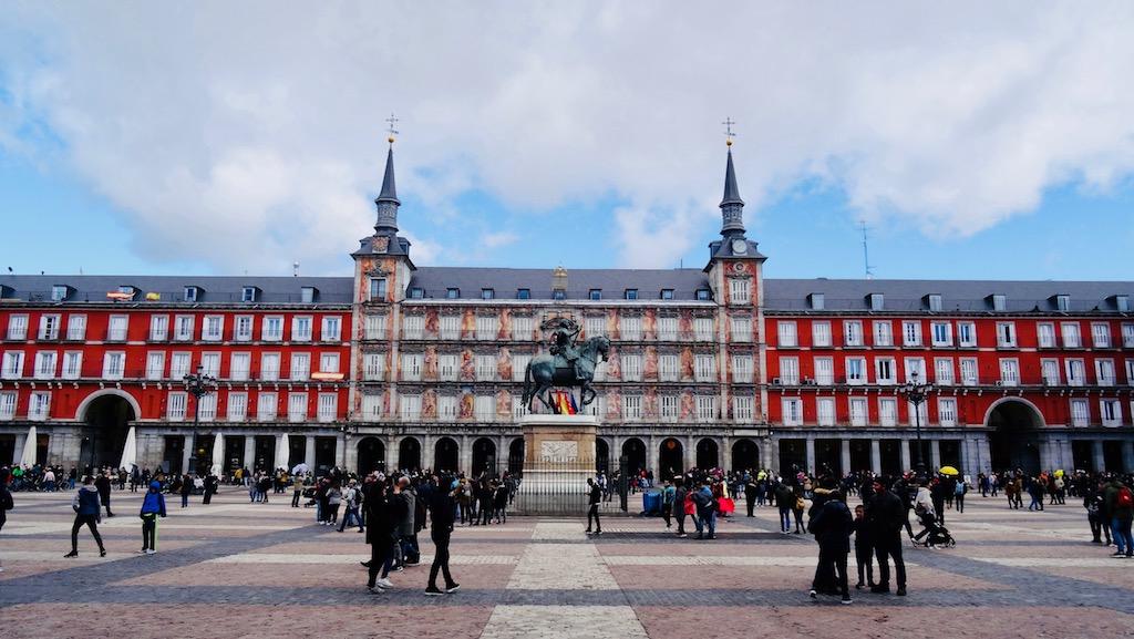visiter madrid activite plaza mayor