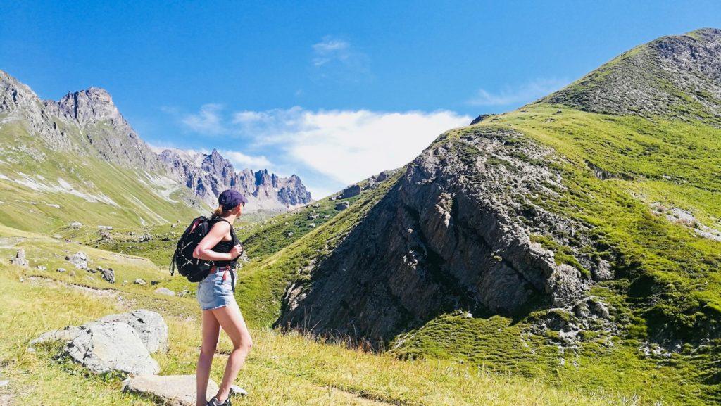 randonnée en montagne valloire france