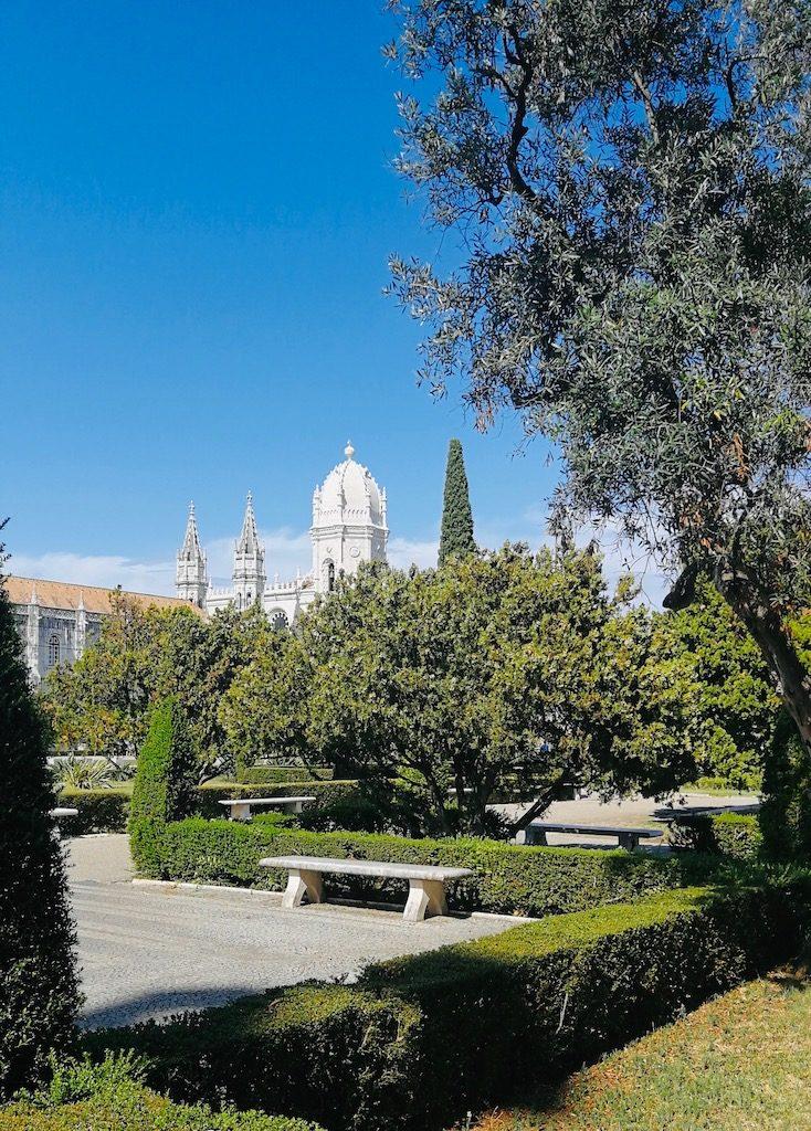 vue sur le monastère de belem