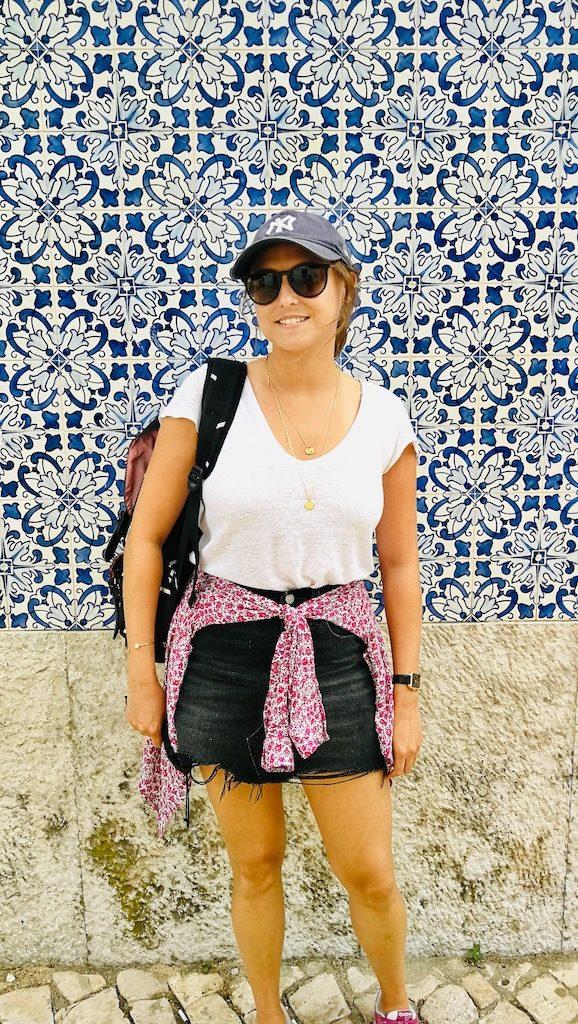 azulejos a cascais portugal