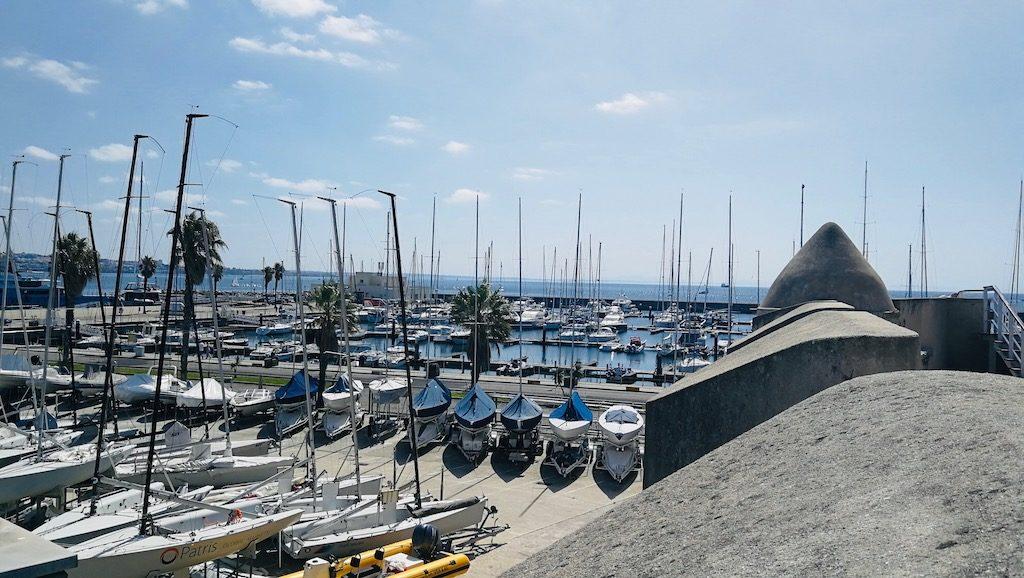 quoi faire a cascais, passer par le port de la ville
