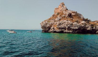 Sardaigne du sud en été Cagliari
